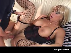 Big Titted Mature Drilled