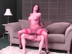 Short hair and big tits on fuckable hottie