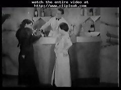 Vintage Porn 1920s Ffm Threesome - Nudist Bar