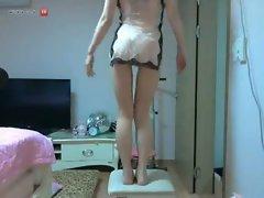 Korean sexy girl webcam teasing