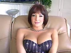 Tory Lane poses in lingerie and chats