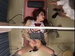 Japanese girl fucked by her doctor so deep