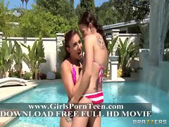 Mischa Brooks &amp_ Mae Meyers teens like it big