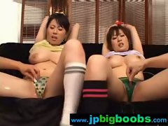 Big Tits Janapese Girls Get Hard Sex clip-19