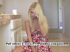 Yana fun stunning teenage dressing