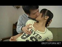 Japanese teen with beautiful big boobs 3