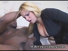 Busty Wife Is Black Cock Lover