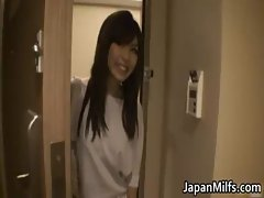 Aya Hirai lovely young Asian wife enjoy