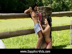 Sapphic Erotica - Pretty Lesbians Doing It Right 27