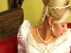 Bride to be lesbo ambush