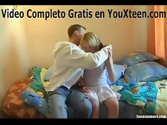old men fucking with a teen, viejo se coge a deliciosa jovencita