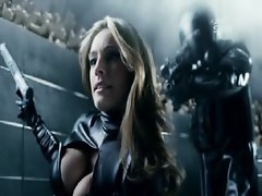 Kelly Brook Hot Scene From Metal Hurlant Chronicles