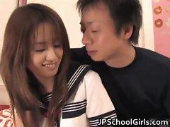 Ami Matsuda school slut creamed pussy