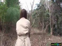 Outdoor Sexy Japanese Get Hard Sex movie-27