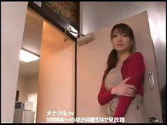 Japanese  Wife Naughty Chesty Hardcore fucking Bukkake Blow