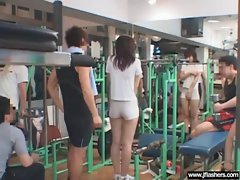 Asian Girl Flash Body And Get Banged vid-02