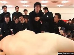 Asian Girl Flash Body And Get Banged vid-34