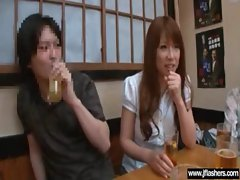 Asian Girl Flash Body And Get Banged vid-21