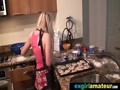 Attractive Sensual Slutty girl Young lady Get Brutal Grinding video-30