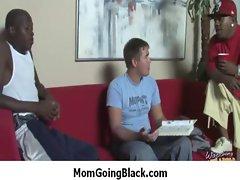 Watch my mama going black : Interracial Explicit Sex 37