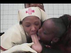 Black Latex Nurses