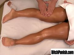 Masseur Fuck Dirty Lewd Large melons Slutty chicks vid-18