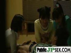 Asians Slutty chicks Get Wild Fucked In Public vid-20