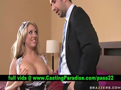 Heather Summers chesty light-haired gets snatch fondled