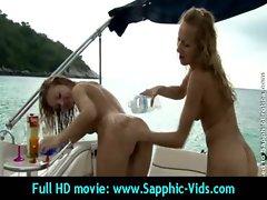 alluring 18yo Butch Slutty chicks Love Oral Sex - Sapphic Erotica 01