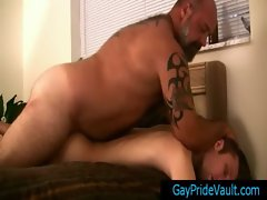Plumper bear humping his weeny petite gay friend By GayPrideVault gay young men
