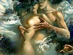 Erotic Paintings of Stanislav Sugintas