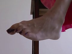 experienced foot tease