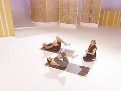 Davina McCall thon bum work out