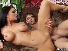 Jessica Jaymes is a lewd filthy bitch with a pierced clit and nipples