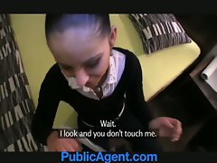PublicAgent Bootylicious Katka bangs me for cash