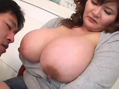 Licking Asian Knockers