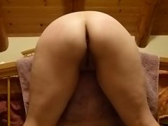 Wifey getting a touch of discipline