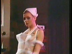 Luscious nurse strip