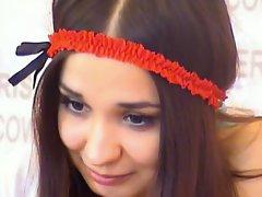 Chesty Ukranian on webcam