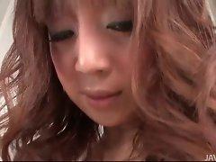 Big titty Mai Serizawa with three toys cumming rough