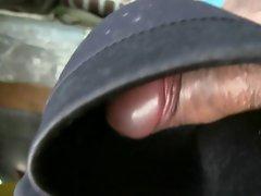 cum on black bra