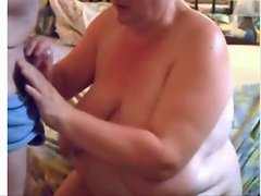 Attractive mature Fatty Suck Pecker