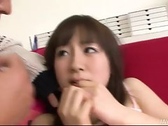 Hitomi Fujihara has her cunt rammed brutal