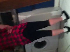 My mama with her screwing legging