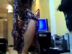 lewd qatarien girlie dancing so sexual