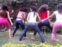 DOMINICAN Raunchy teen Tarts DANCING