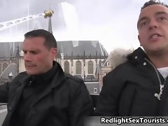 Alluring tourist wants to fuck crazy Dutch