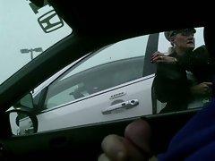 She slapped my car