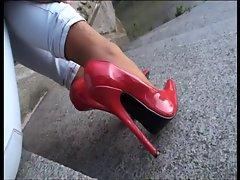 LGH - Tamia Public Extrem Heels und Nylons