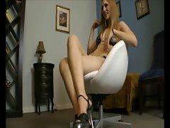 obscene dancer feet